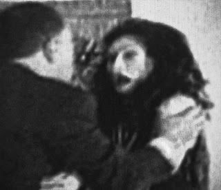 "Haunted Film. This movie is said to have real paranormal phenomena occurring right before your eyes. The ghosts of dead actors or demons can be seen morphing in the film! ""Return To Babylon"" a silent film by Alex Monty Canawati is gaining interest among paranormal researchers as well as cinema experts for its spontaneous morphing of the actors into hideous monstrosities."