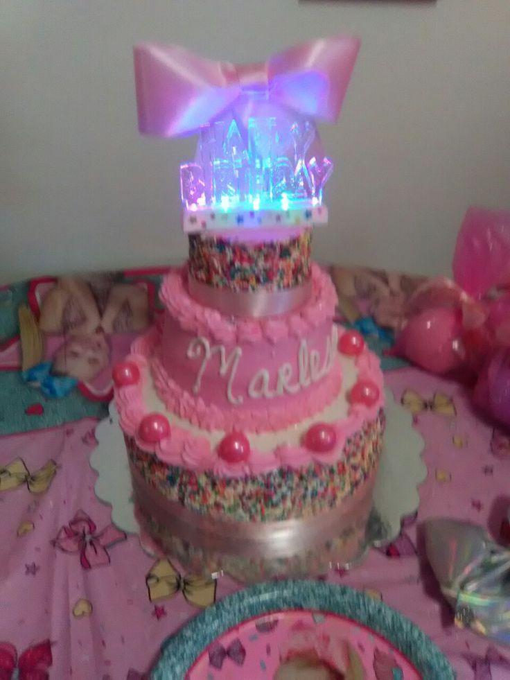 Jojo Siwa Cake Melonie B Day Jojo Siwa Birthday Jojo Siwa Jojo