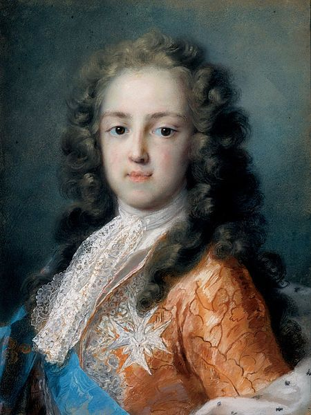 Rosalba Carriera - Louis XV of France as Dauphin (1720-1721) -