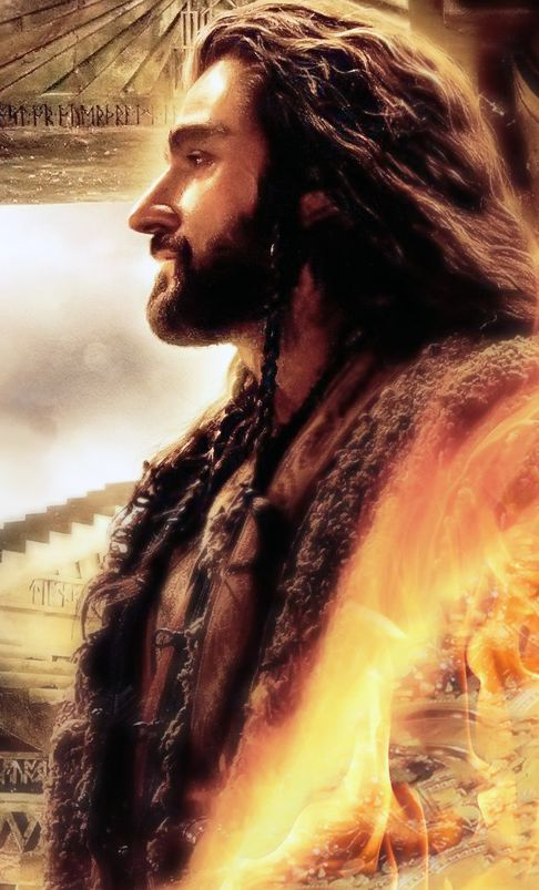 Richard Armitage as Thorin Oakenshield in The Hobbit ...