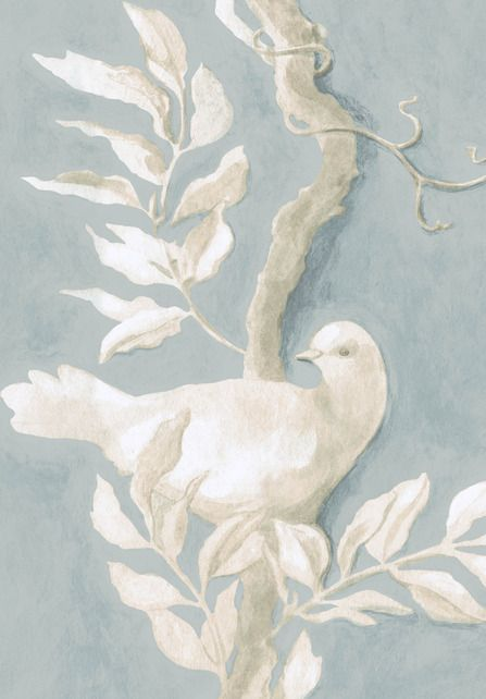 Doves Wide Width Wallpapers