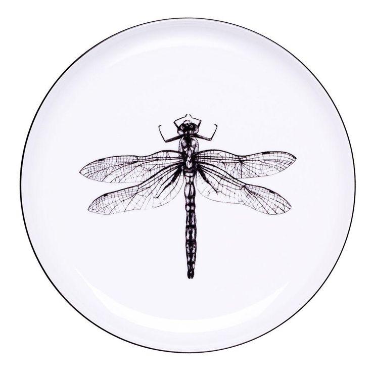 Dragonfly Dinner Plate  sc 1 st  Pinterest & 10 best Artistic dinner plates images on Pinterest