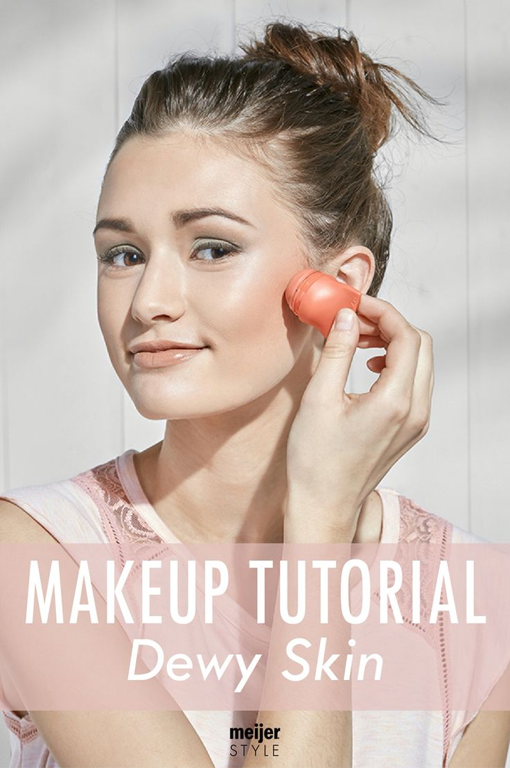 Follow this easy, essential makeup tutorial to achieve trendy and perfect dewy skin this spring at #MeijerStyle.