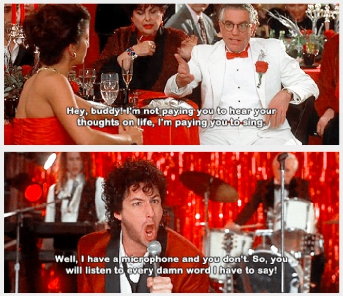 "Wedding Singer Quotes Amusing 210 Best ""the Wedding Singer"" Images On Pinterest  The Wedding . Design Decoration"