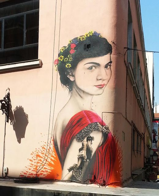 Fin DAC New Mural In Madrid, Spain (Part II) StreetArtNews