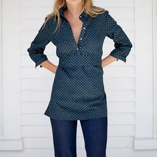 emerson ribbon tunic