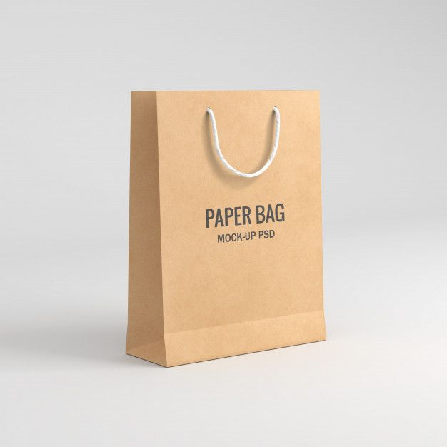 Download Paper Bag Mockup In 2020 Bag Mockup Paper Bag Paper