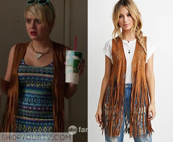Kevin From Work: Season 1 Episode 2 Roxie's Suede Fringe Vest