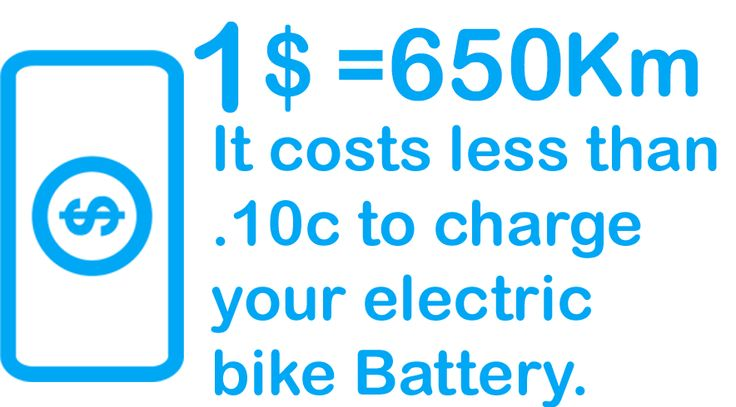 Save money and get exercise. With electric bikes you can travel about 650km on just 1$. Try and do that with your car! Www.umovtech.com