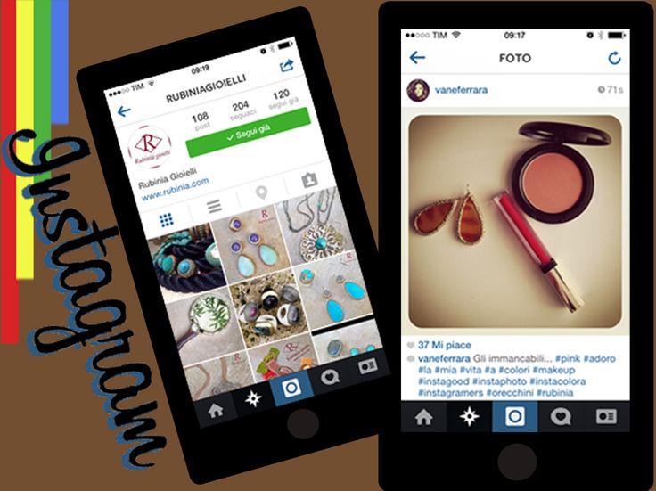 Seguiteci su Instagram! Postate le vostre foto con i nostri gioielli usando #rubiniagioielli   www.rubinia.com