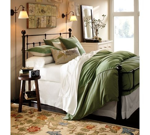 Mendocino Bed Decorating Home Pinterest Bedroom Pottery Barn Bedrooms And
