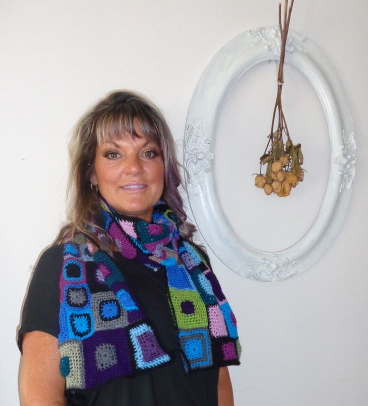 WEARABLE ART - By Jan Belgrave 100% VINTAGE WOOL AND MOHAIR Inspired by Sophie Digard  $200.00