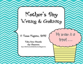 A cute Mother's Day writing and craftivity freebie.