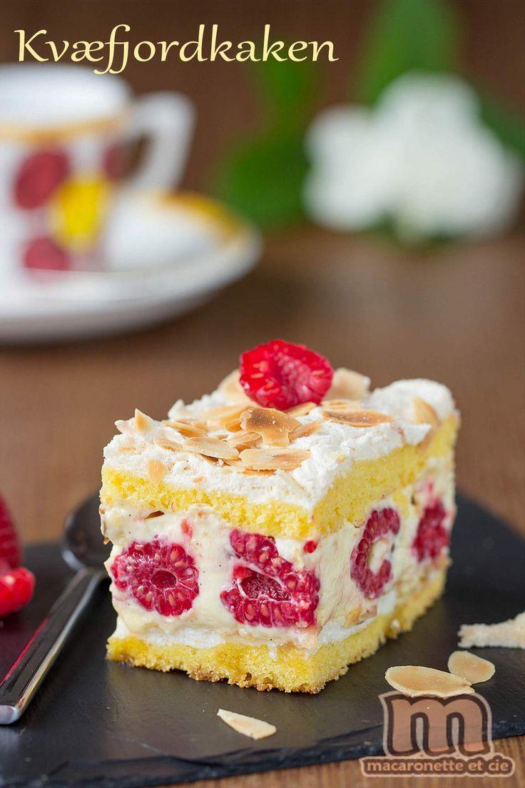 On part en Scandinavie, et plus précisément en Norvége, pour un gâteau norvégien appelé : Kvæfjordkaken. Le Kvæfjordkaken dans sa version...