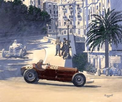 monaco grand prix drive through