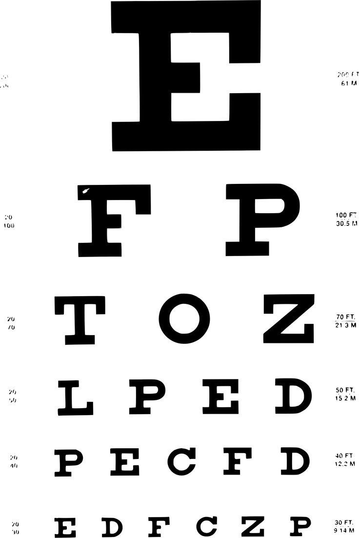The 25 best eye test chart ideas on pinterest eye chart am i scientific eye chart canvas from domayne nvjuhfo Gallery