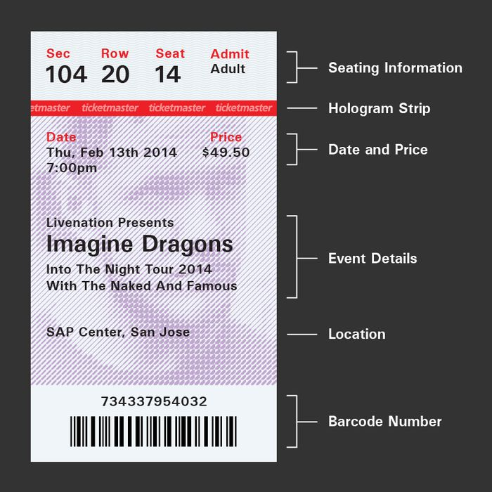 75 best Graphic Design Print Wedding Reference images on - concert ticket design