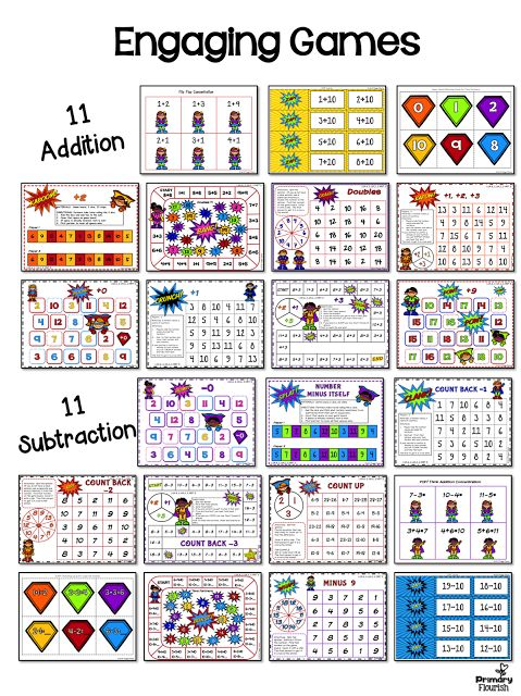 3 Tips to Build Math Fact Fluency  These math fact fluency addition games were designed using the mental math strategies. Research confirms that students learn the basic math facts quicker if they learn them in the context of the mental math strategies. Mental Math strategies not only help students increase their math fact fluency, but they are understanding number sense and how the numbers are related to each other.