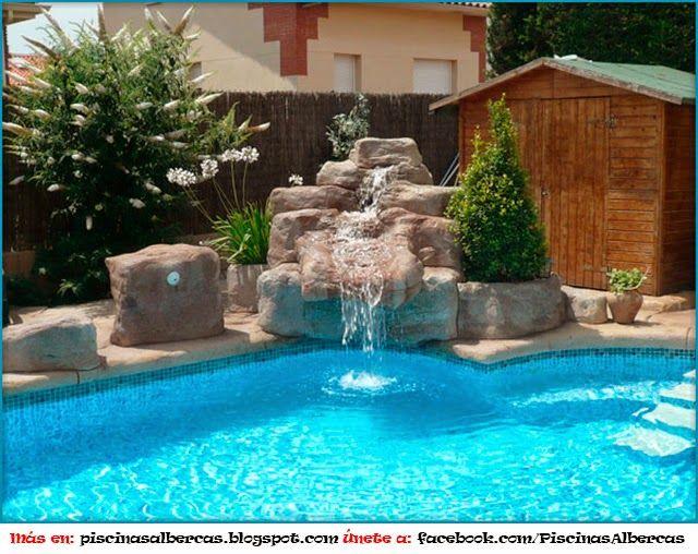 Juegos de agua para piscina piscinas y albercas fotos for Albercas modernas fotos