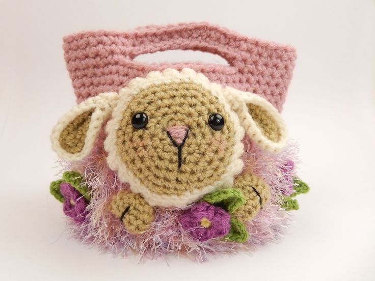 Buy Easter treat bags crochet pattern - Allcrochetpatterns.net