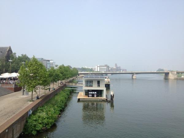 floating house maastricht netherlands