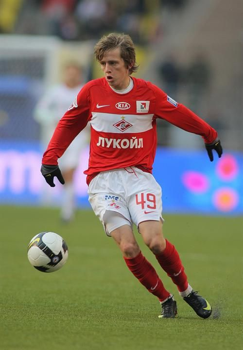 Zhano Ananidze, Georgian footballer born in 1992. He's a midfielder who plays as a playmaker. He plays for FC Rostov on loan from Spartak Moscow, and for Georgian National Football Team