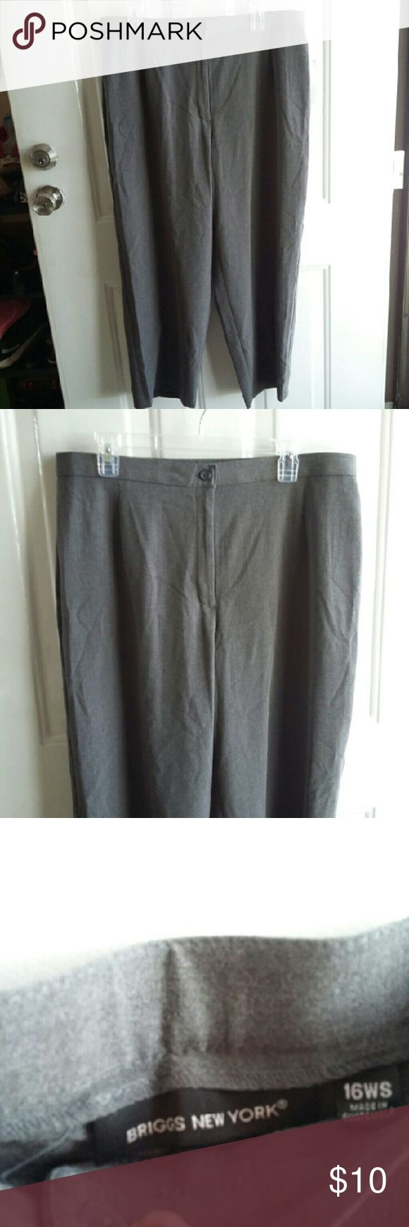 NWT BRIGGS LADIES PANTS SZ 16WS This is a sz 16 wide short. New with tags BRIGGS Pants Trousers