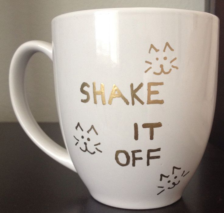 Taylor Swift Shake it Off Mug DIY