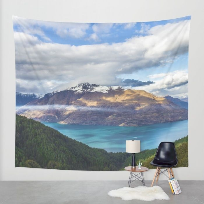 Viewtiful Wall Tapestry by Mixed Imagery | Society6