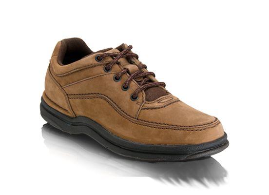 Rockport Men's World Tour Classic Walking Shoe, Size: XW, Chocolate Nubuck