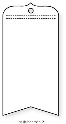 Papertrey Ink - Basic Bookmark 2 Die