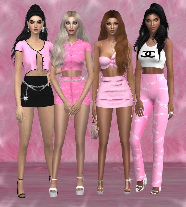 woohoo pineapple 🎵   Sims 4 clothing, Sims, Sims 4