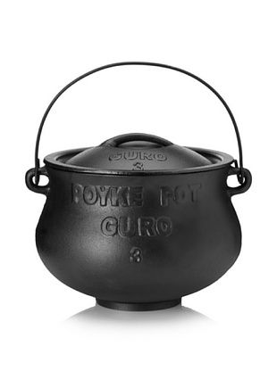 Guro Cast Iron Poy-Ke 3 Without Legs African Cast Iron Pot