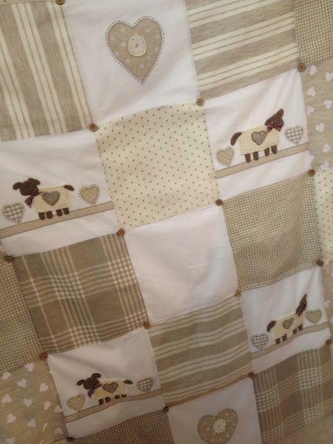 25 ideas destacadas sobre colchas patchwork en pinterest - Colchas patchwork infantiles ...