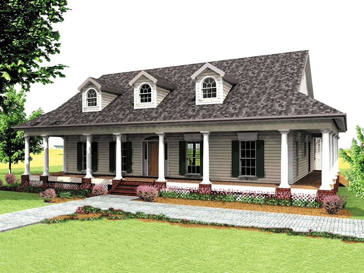 25 best ideas about country house plans on pinterest for Southern country house plans