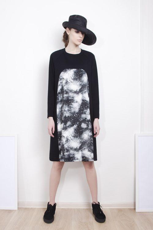 Lesel - Платье А-силуэта, Млечный путь