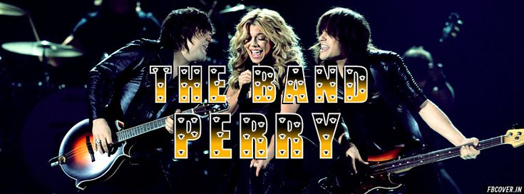 The Band Perry Timeline Covers | FBcover.in