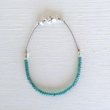 Forever Love Bracelet - Aqua
