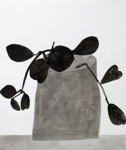 jonas wood: Jonas Woods, Byrdsong, Illustrations Inspiration, Plants Black And White, Animals Plants Paintings, Art Inspiration, Woods Black, Woodblack, White Plants