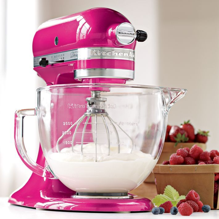I have always wanted one of these....I have no idea why. But hot pink? I would definately learn how to use it! <3