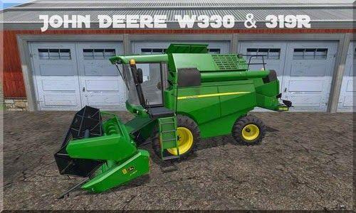 VideoModGame: Farming simulator 2015 - John Deere W330 v 1.0