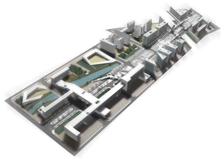 district masterplan, Shanghai (China) #town #masterplan #cityplanning