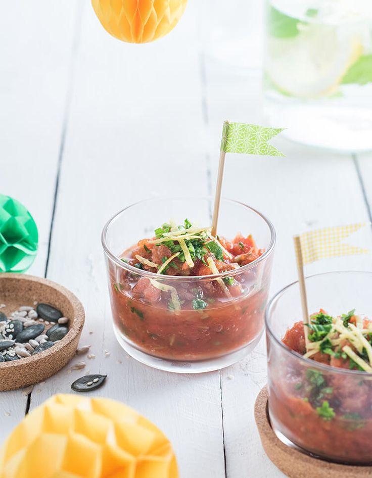RICETTE SVEDESI di IKEA: Sorbetto di pomodoro e vodka ai fiori di sambuco - scopri la ricetta su https://nuovecollezioni.ikea.it/ricettesvedesi_2016/