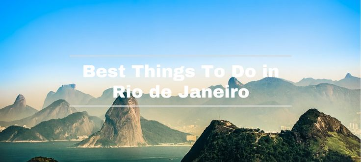 Planning a trip to Brazil? Don't miss visiting Rio de Janeriro, and when you do follow our top 8 things to do in Rio de Janeiro. Christ the Redeemer The city is known for a specific landmark,…