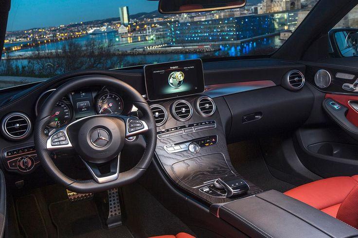 2015 Mercedes-Benz C-Class interior drivers