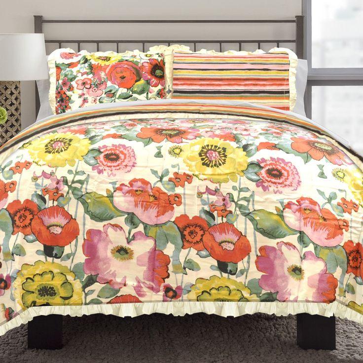 Best 25 Floral Comforter Ideas On Pinterest Girl