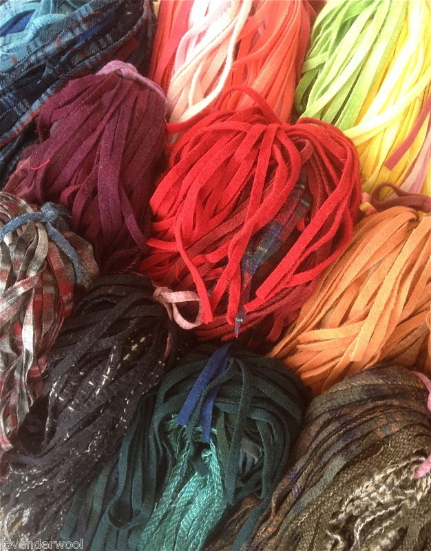 Beautiful Wool For Primitive Rug Hooking