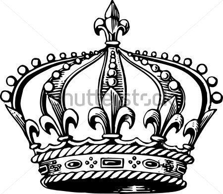 Dibujo corona de reina - Imagui