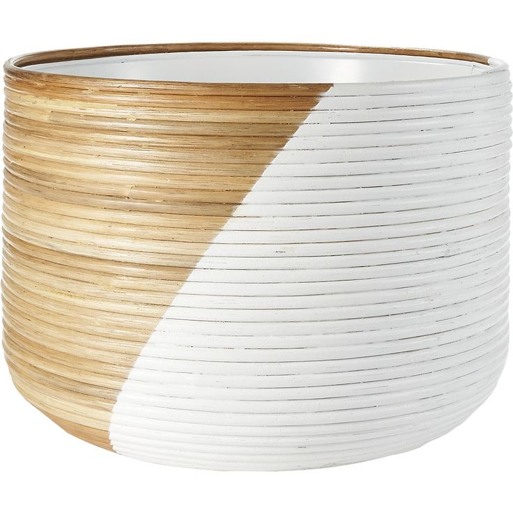 Basket Extra Large White Planter Reviews White 640 x 480