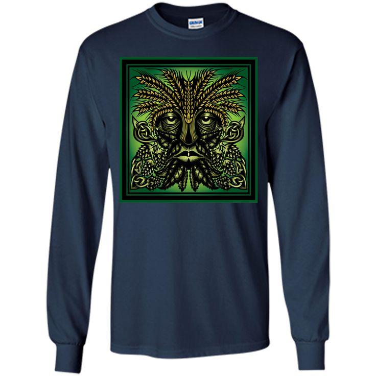 Hop & Barley Green Man T-Shirt
